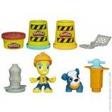 набор Hasbro Play-Doh Town B5972 плей до дорожный рабочий
