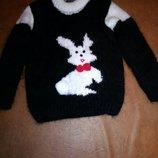 Очень теплый свитер на девочку