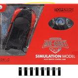 Машина колекц. Bugatti красная 1 24 метал-пластик повне радіо, акум. р. 32 75 23 см