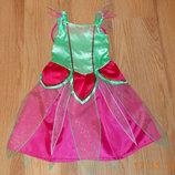 Новогоднее платье Бабочка для девочки 5-7 лет, 110-122 см