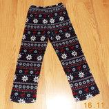 Теплые брюки Rebel для девочки 7-8 лет, 122-128 см