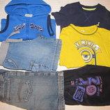 пакет одежды на мальчика 2-3 года 92-98 рост 6 вещей