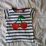 футболка детская вишня