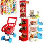 Магазин 668-20 продукты, сканер, тележка, свет, звук