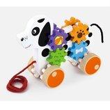 Игрушка-Каталка Щенок , Viga Toys 50977