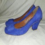 Туфли замшевые Clarks 37-38размер