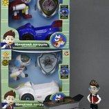 Герой и Машина трансформер Щенячий патруль свет звук Сн-203 герои мультфильмов в коробке 18,1 9,5 16