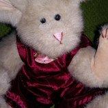 Коллекционный шарнирный заяц от бренда ty Новогодние игрушки
