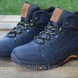 Мужские ботинки Коламбия Columbia синие