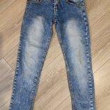 Наши суперские джинсы Тм Fashion Girl. 128-134 рост. Без дефектов. Реглан в Подарок