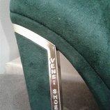Шикарнейшие сапожки Vensi Shoes,актуальный изумрудный цвет