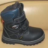 Термо-Ботинки 24 р-15,5 см зимние на мальчика