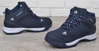 cf16c39a Кроссовки мужские зимние Adidas ClimaProof синие на меху: 1395 грн ...