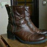 Кожаные сапоги ботинки Paul Barritt.
