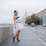 Юбка фатиновая с шлейфом девишники тематические свадьбы
