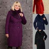 Супер Цена Зимнее пальто с натуральным мехом