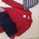 комплект. джинси и рубашка zara