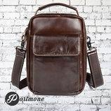 Мужская сумка барсетка Boss из натуральной кожи