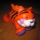 Развивающая игрушка-крутилка трещотка Тигренок