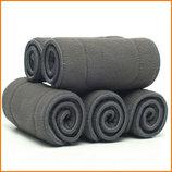 Бамбуковый-Угольные Вкладыши в подгузники 5 слойные.Бамбуково-Вугільні Вкладки