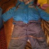 Зимний комбинезон на мальчика 1-2 года