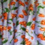 Халат махровый для девочки с капюшоном -БУ