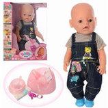 Кукла Пупс Baby Born 8006-461 8 функций, магнит соска, 9 аксессуаров