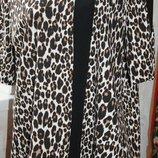 блуза футболка батал леопард обмен торг