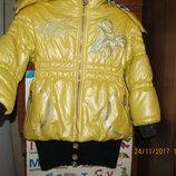 Курточка зимняя на 4,5-6 лет 104-110 рост
