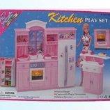 Кухня Gloria 24016 батар.,холодильник,газплита,мойка