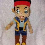 Мягкая кукла игрушка Пират Джейк из мультфильма Дисней Діснейdisney