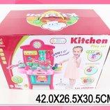 Набор Кухня 3830-19 газ.плита, духовка,посуда в кор.42 26 30см