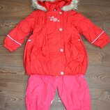 продам комплект пальто и полукомбинезон Lenne 98р.
