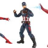 Marvel captain America iron man spider набор фигурок железный человек паук капитан Америка