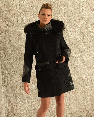 Супер Цена Зимнее кашемировое пальто с натуральным мехом  1500 грн ... 001c2c905d12c