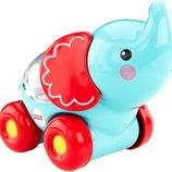 Fisher-Price Каталочка Забавные животные с прыгающими шариками слоник Poppity Pop Elephant