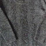 Свитер кофта Marks & Spencer M&S с кудряшкой