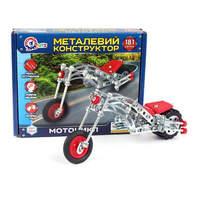 Конструктор металлический Технок 5 моделей