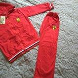 Летний хлопковый спортивный Ferrari