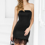 Соблазнительное коктейльное платье