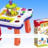 Развивающий музыкальный столик Карусель 668-64