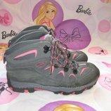 Ботинки термо Mountainlife Англия 34 размер по стельке 22 см. Кожаные, Зимние. В идеальном состоянии