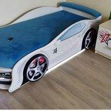 Кровать машина с подстветками г. Львов отправяем по всей Украине
