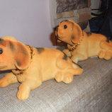 Собака-Символ года.Сувенир собачка с качающей головой