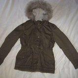 Куртка парка H&M Швеция на рост 158-164 см. 13-14 лет.Зимняя. В идеальном состоянии.Куртка на утепли