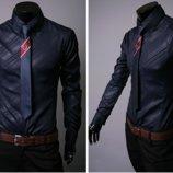 Мужская рубашка длинный рукав L, XL, XXL, XXXL