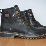 Зимние кожаные ботинки супер качество.Belvas.