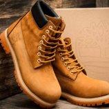 мужские зимние ботинки Timberland размеры от 41 по 44р