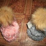 шапки акрил зима