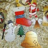 Эксклюзивные новогодние игрушки ручной работы на ёлку